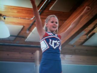 Life Christian Academy Cheerleader.